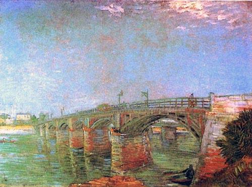 Pont d'Asnières peint par Van Gogh
