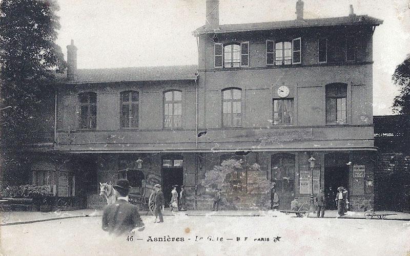 Gare d'Asnières