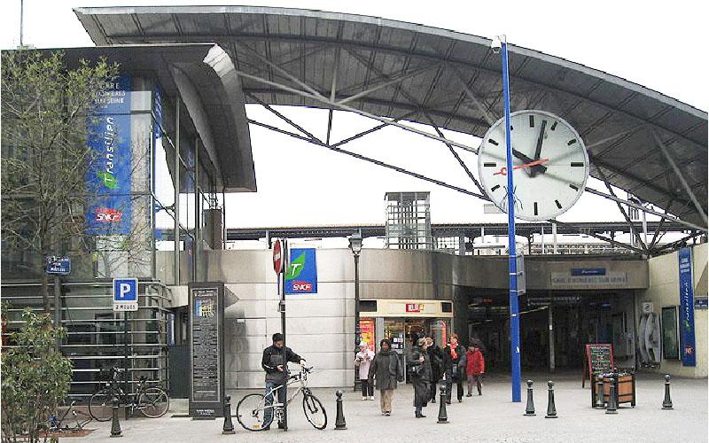 Gare d'Asnières aujourd'hui