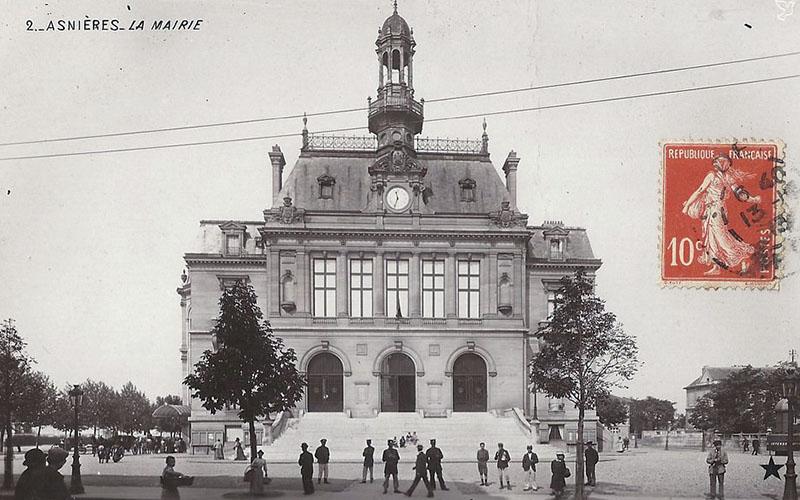 La Mairie d'Asnières