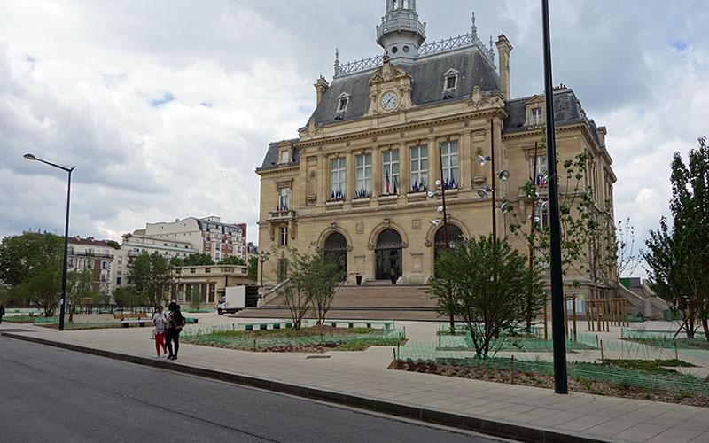 La Mairie d'Asnières aujourd'hui