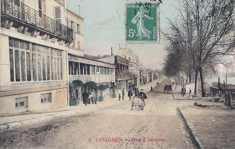 Le quai de Seine