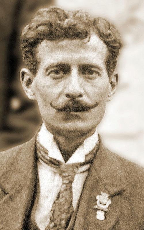 M. Charles Vespierre, le premier Président de la Fraternelle d'Asnières en 1913
