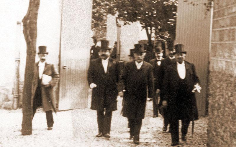 Inauguration le 17 juin 1894 en présence de M. Gustave Baguer
