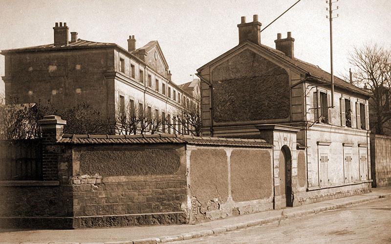 Ecole des filles en 1899