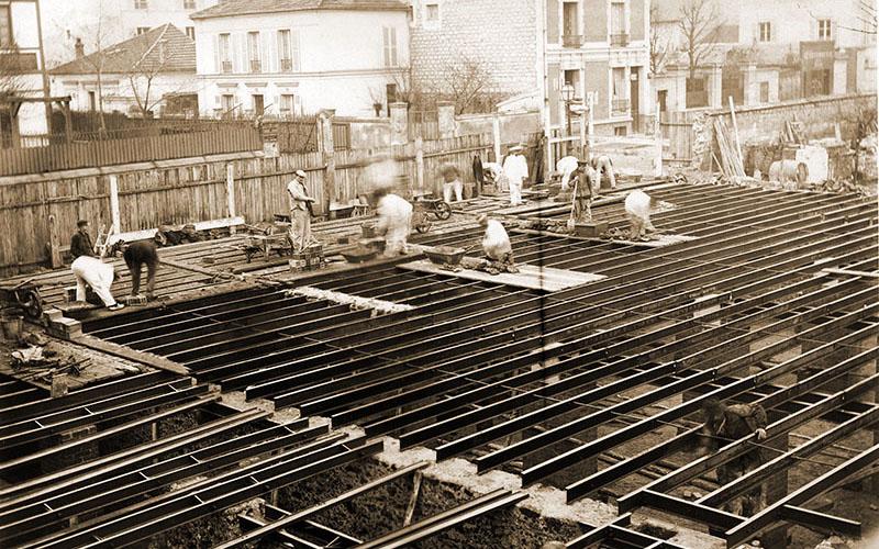 Construction, décembre 1901