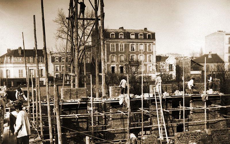 Construction, janvier 1902