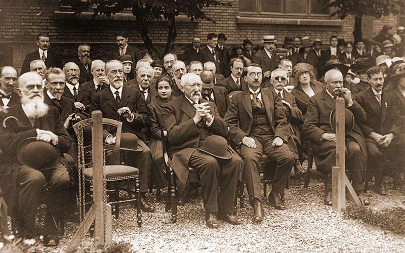 Cémémoration de M. Gustave Baguer en 1920