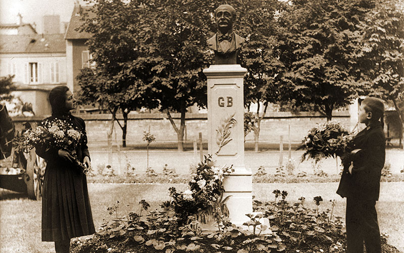 Cémémoration de Gustave Baguer en 1920