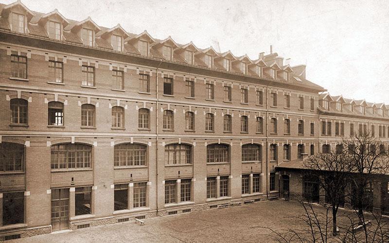 Cour intérieur en 1933